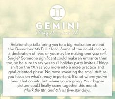 Get your horoscope for the month of December