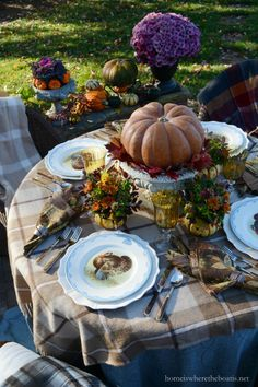 Thanksgiving alfresco