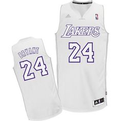 fac225599 Buy Kobe Bryant Authentic In White Adidas NBA Los Angeles Lakers Big Color Fashion  Mens Jersey Top Deals from Reliable Kobe Bryant Authentic In White Adidas  ...