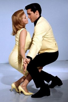 """Ann Margret and Elvis Presley in """"Viva Las Vegas"""". I wanted to be Ann Margret! Elvis Presley, Priscilla Presley, Ann Margret, Lisa Marie Presley, Vintage Hollywood, Hollywood Glamour, Classic Hollywood, Hollywood Usa, Natalie Wood"""