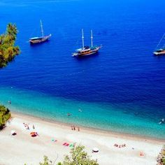Bodrum - The best beaches in Turkey Seven Wonders, Black Sea, Travel Memories, Antalya, Wonderful Places, Beaches, To Go, Coast, Vacation