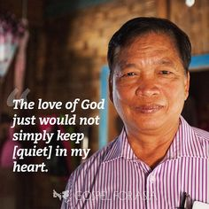 """When Myo Zaw was redeemed by the Lord, he was passionate about sharing about that redemption. People thought he had gone mad. Those in his community already knew him as a hot-blooded drunkard who fought with people and beat his wife and children, and now he proved his insanity.⠀ ⠀ """"But I knew I was not mad,"""" Pastor Myo Zaw says. """"The love of God just would not simply keep [quiet] in my heart. I wanted to pour it out and share it.""""⠀ ⠀ Consumed by a fire that could not be put out, Myo Zaw…"""