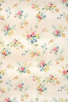 Antique wallpaper for sale by the yard from hannah's treasures vintage wallpaper on etsy victorian wallpaper Vintage Wallpaper Patterns, Antique Wallpaper, Victorian Wallpaper, Pattern Wallpaper, Papel Vintage, Decoupage Vintage, Vintage Paper, Flower Phone Wallpaper, Wallpaper Iphone Cute