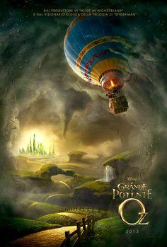 Il grande e potente Oz - Il film ci accompagna in un viaggio nella gioventù del mago di Oz, sino ad arrivare alla trasvolata in mongolfiera che gli farà scoprire la terra di Oz.