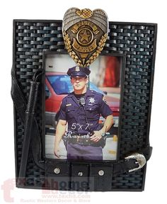 Police Officer Proud Choose A Family Member Image Cuff Bracelet