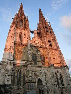 "Regensburg, la Cattedrale, ""Dom St. Peter"""