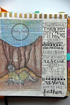 Artsy Faith: 30 Days with Joseph   Genesis 37:22