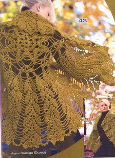 Chalecos tejidos a crochet con patrones - Imagui