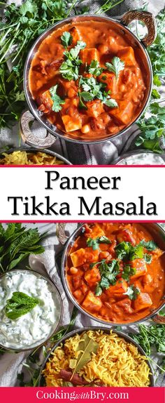 Paneer Tikka Masala Recipe, Chicken Tikka Masala, Easy Dinner Recipes, Easy Meals, Delicious Recipes, Easy Recipes, Donut Recipes, Spicy Recipes, Vegan Recipes