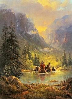 'The American West' by G. Harvey