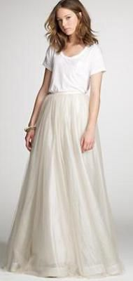 Hot Wedding Dress Trends: Seperates
