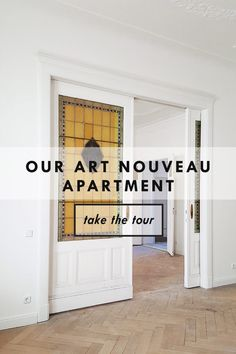 Our Art Nouveau Apartment