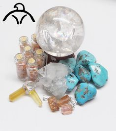 Blue Topaz and Eagle Animal Totem - Daily Crystal Nugget - Information About Crystals As A Healing Tool