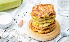 Zucchini-Mais-Fritters
