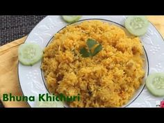 Bangali Bhuna Khichuri Recipe|| How To Make Easy Bhuna Khichuri - YouTube