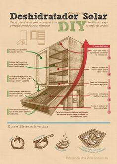 Infografía - Deshidratador Solar