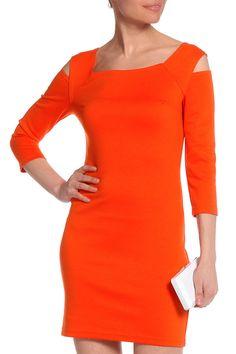 летнее короткое платье оранжевого цвета, стрейч Bodycon Dress, Dresses, Fashion, Gowns, Moda, Body Con, Fashion Styles, Dress, Vestidos