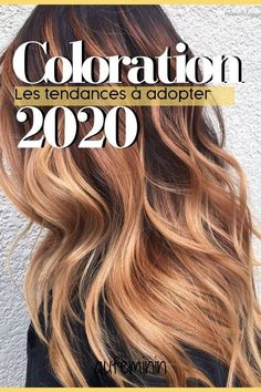Hair color trends 2020 - Whether you just want to lighten your hair or radically change your head, you will probably find yo - Hair Highlights And Lowlights, Brunette Highlights, Bronze Highlights, Brown Blonde Hair, Brunette Hair, Black Hair, Curly Hair Styles, Natural Hair Styles, Cool Hair Color