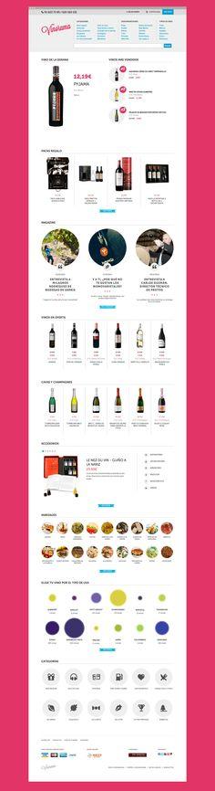 Sitio web vinorama.es