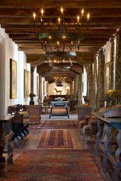 beautiful Spanish hallway |  Buy natural #gemstones online at mystichue.com