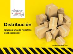 ¿Buscas una de nuestras publicaciones? Distribución nacional e internacional Pintar-Pintar Editorial Editorial, Logos, Texts, Illustrations, Logo