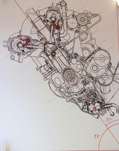 Ducati engine schematic