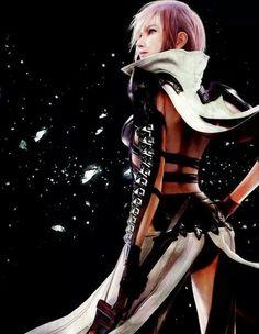 Final Fantasy Girls, Lightning Final Fantasy, Final Fantasy Cosplay, Final Fantasy Characters, Fantasy Series, Fantasy Art, Lightning Images, Darkest Dungeon, Cloud Strife