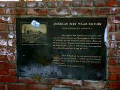 Oxnard California, Sugar Factory, Historical Landmarks, Ventura County, Jun, American