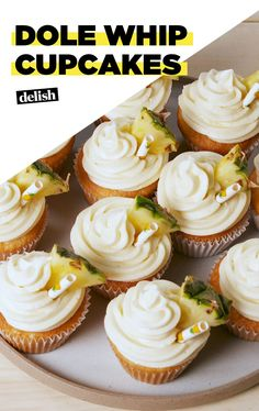 Travel To Paradise With Dole Whip CupcakesDelish