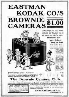 Kodak brownie ads (1901)