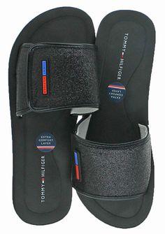 25dcd593dfb5 Tommy Hilfiger Womens Mysha3-X Open Toe Casual Slide Sandals