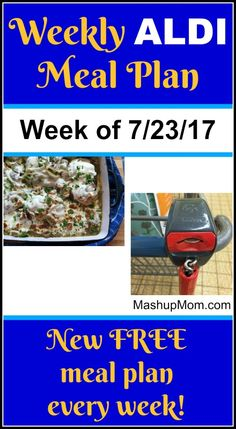 Here's youreasy weekly ALDI meal plan for the week of 7/23/17: Pick up everything on the shopping list below, then start cooking on Sunday. *** Subscribe to the weekly ALDI meal plans here *** Guess what, guess what?! My eBook is on sale! If you enjoy these ALDI meal plans and savings, you might alsoView Post