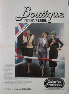 Boutique Int. Galerias, ene 1980
