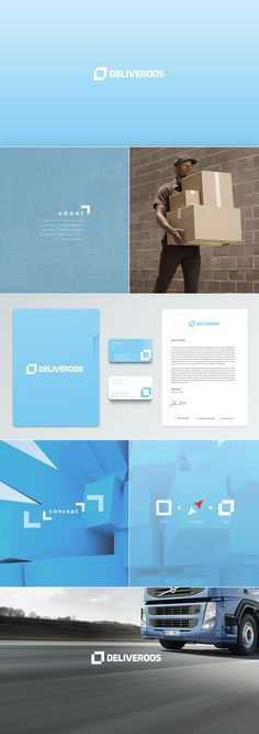 Fresh branding for Sydney delivery services.