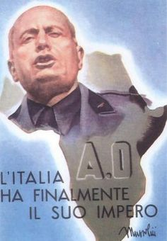 Click any image to enlarge Italian WWII propaganda posters are different than the usual posters from that era in that they come in two d. Italian Empire, Italian Army, Vintage Italian Posters, Ww2 Propaganda Posters, Oriental, Roman History, Art History, World War Two, Wwii