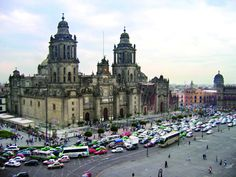 Catedral Metropolitana  Zocalo Ciudad de Mexico...this is my dream church to get married in since i was little, its so beautiful