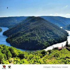 Galicia. Ribeira Sacra. Rio Sil