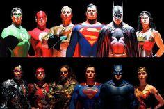 Justice League: Finalmente anche Superman nel banner ispirato ad Alex Ross - Nerdmovieproductions