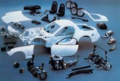 The components of the RX-7