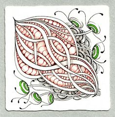 Shelly Beauch: Crazy about a little green. I love to doodle, esp  zentangles. I carry a small kit perfect for the plane, train, drs offices, anywhere you need to occuppy yourself or just Zen out after a long day.
