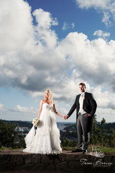 Bryllup på Midtåsen i Sandefjord :)