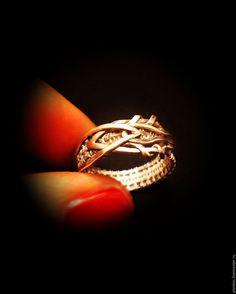 Купить Кольцо «ENERGY» Серебро - серебро 925 пробы, серебряный, кольцо, wire wrap