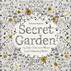 Coloring Books for Gardeners by Johanna Basford #ad