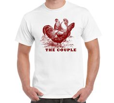 The Couple T Shirt TShirt S-3XL Domestic by FreakyTshirtShop