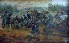 La muerte del general John Sedgwick en el campo de batalla de Spotsylvania Couth House.