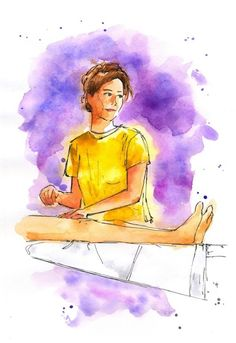 April 28, 2018. Sketches from summer IV. Beach masseuse from Croatia. Ink, watercolor. #ink #watercolor #portrait #drawing #painting #sketch #art #sketchbook #travel ##body #wellness #massage #masseuse