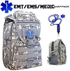 EMT personnalisé EMS Medic On/Off Duty sac à dos par CYCLONEXGEAR