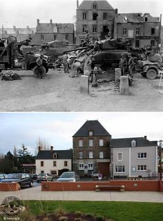 Then and now... Saint-Jean-de-Haye