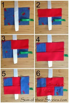 easy to make pocket pack tissue holder