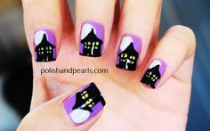 haunted house nails